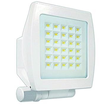 Beg luminarias - Proyector detector movimiento fl3n-led-130 blanco: Amazon.es: Bricolaje y herramientas