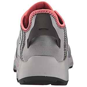 adidas Outdoor Women's Terrex Climacool Voyager Sleek Water Shoe, Grey/Black/Tactile Pink, 9 M US