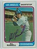 Bill Russell AUTOGRAPH 1974 Topps #239 Los Angeles Dodgers