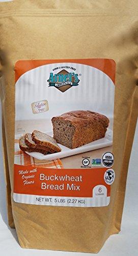 - Buckwheat Bread Mix, organic, vegan, kosher, allergy friendly, non-GMO
