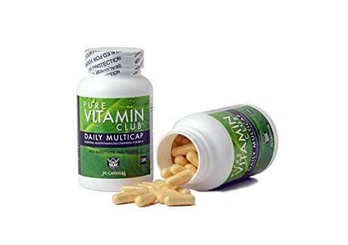 Daily Multivitamins – 90 Day Supply – NO Fillers, NO Binders, NO Added Ingredients. Simply The Perfect Blend of Vitamins and Minerals to Supplement a Balanced Diet. Pure Vitamin Club Daily Multicaps. For Sale
