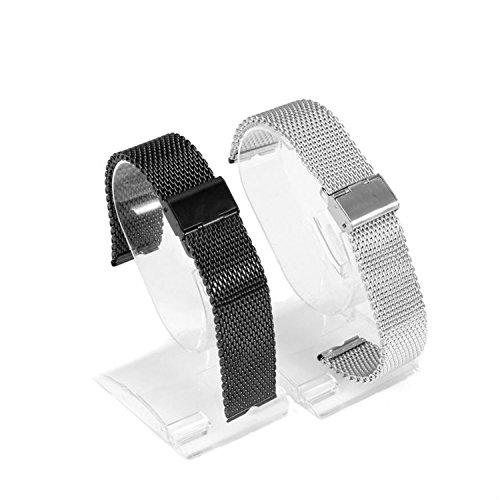 Japace® 22 mm de acero inoxidable Malla Replacement Uhrenarmband Correa De Reloj Pulsera Watch Band correa de acero Venda De Reloj para el Motorola Moto 360 ...