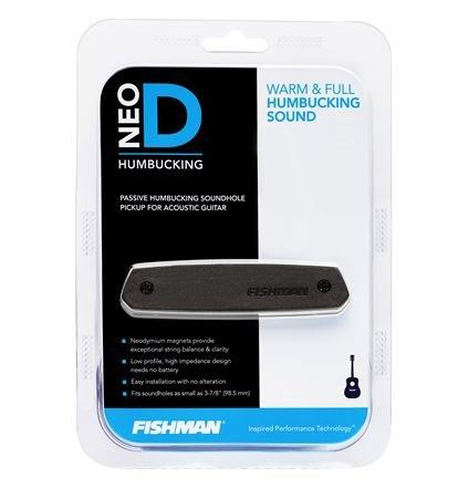 Fishman Neo-D Magnetic Humbucker Acoustic Pickup