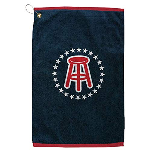 Barstool Sports Official Golf Towel, Clip-On Accessory for Golf Bag, Perfect for Tailgating College Fraternities Weekend -
