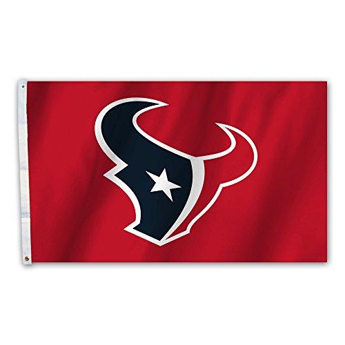 NFL Houston Texans NFL Houston Texans 3' x 5' Flag with Grommetsnfl 3' x 5' Flag with Grommets, Red,
