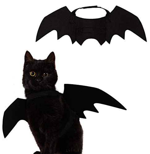Sunvy Small Dog Cat Wings Halloween Bat Costume 2018 -