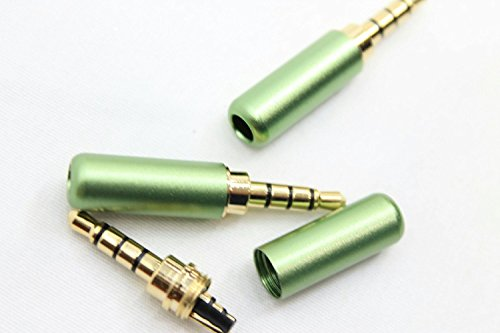 Quality 3.5 mm Stereo TRRS 4 Pole Male Conductor Connector R