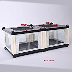 Big Apple Stackable Reptile Cages (Top Caps (4 Pack))