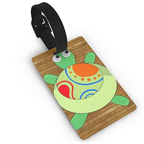 GKEEHR Luggage Tag Cartoon Sea Turtle Label Cruise Instrument Bag Case ()