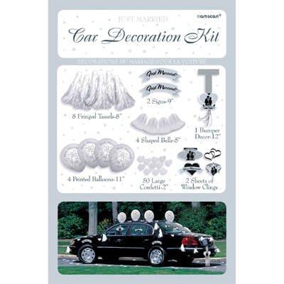 Wedding Car Decorating Kit (Wedding Car Decorating Set)