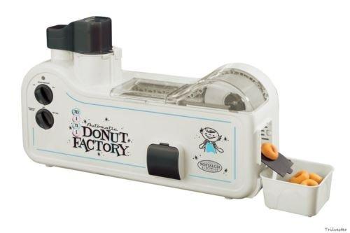 Electrics Automatic Mini Donut Factory Maker Machine Kitchen Appliance Safe New