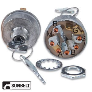 Kohler Toro Wheel Horse Engine Ignition Switch Part No: A-B1SB7280 2509902,  2509904, 430-662