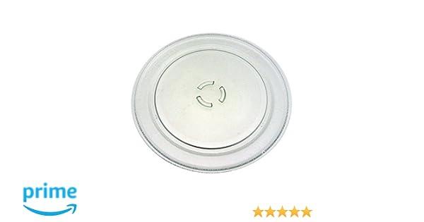 Whirlpool - Plato giratorio de cristal para microondas Whirlpool ...