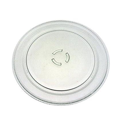 Plato giratorio de cristal Diam. 36 cm horno microondas ...