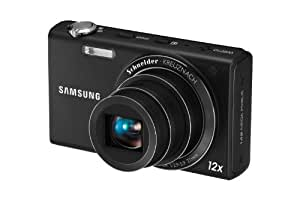 Samsung EC-WB210 Digital Camera with 14 MP, 12x Optical Zoom and Touchscreen (Black)