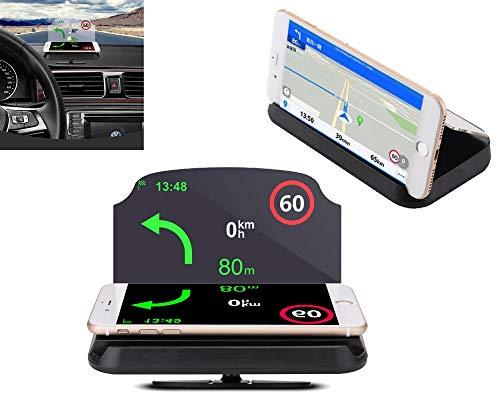 MyBreeze@ Heads up Display GPS Car HUD Holder Universal Smart Mobile Cell Phone GPS Mounts Navigation Bracket ()