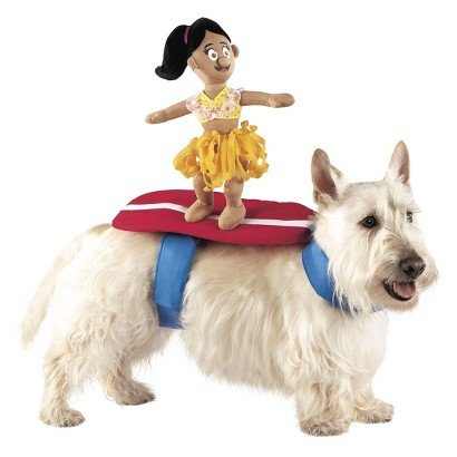 Surfer Dog Costume (Surfer Rider Pet Dog Funny Costume - Small - Medium)