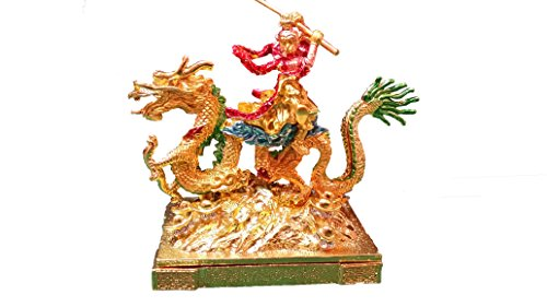 2016 Year of the Monkey Chines Feng Shui : Monkey on a Dragon for Business Success by feng shui -- MASTER