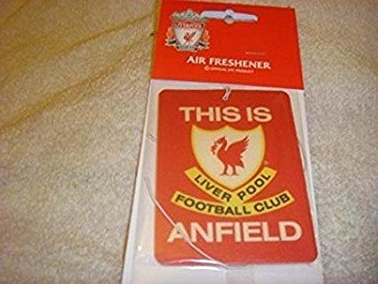 Liverpool Official FC This is Anfield Design air freshener