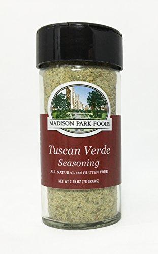 Madison Park Foods Tuscan Verde Seasoning, 2.75 oz (Madison Oil)
