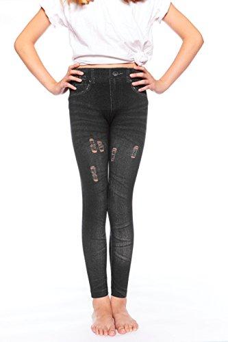 Girls Contrast Dance Pants - 6