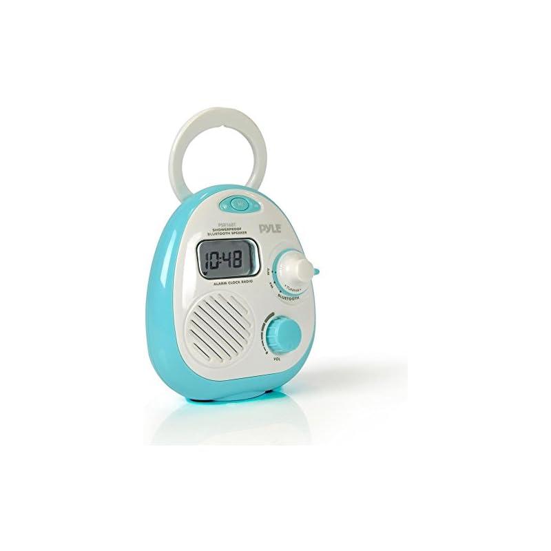 Pyle - Shower Radio Waterproof Wireless