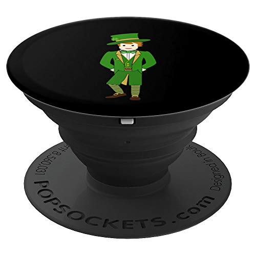 Cute Leprechaun Design - PopSockets Grip and Stand for Phones and Tablets