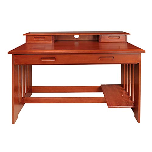 American Furniture Classics 2867DH Desk with Hutch by American Furniture Classics (Image #3)