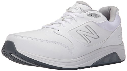 New Balance Men's MW928V2 Walking Shoe,White,11 D US