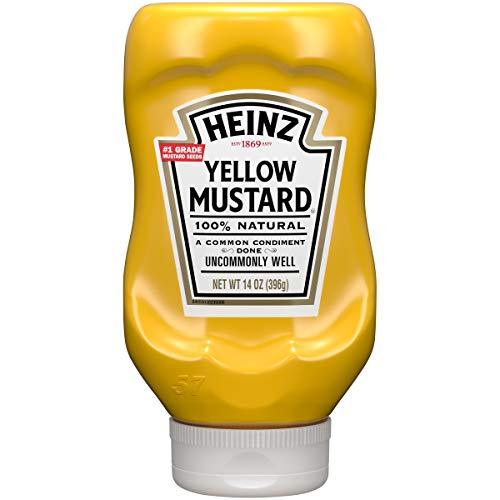 Heinz Yellow Mustard, 14 oz -