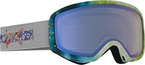 Anon Women's Deringer Goggle, Crafty/Blue Lagoon, One Size -  Burton Snowboards