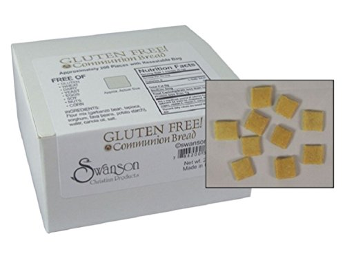 Baked Gluten Free Communion Bread - Square Shape (Pack of 200) for $<!--$7.53-->