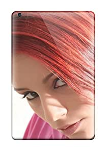 Hot Style OEYakkX2600GKnIj Protective Case Cover For Ipadmini/mini 2(ariel With Red Hair)