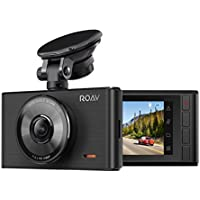 Roav by Anker Dash Cam C2, FHD 1080P, 3' LCD, 4-Lane Wide-Angle View Lens, G-Sensor, WDR, Loop Recording, Night Mode, 2-Port Charger, No Wifi or APP