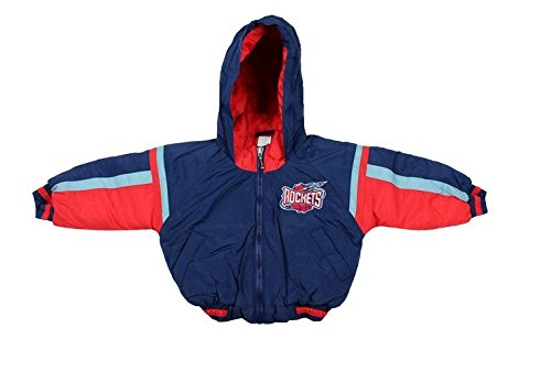 Houston Rockets NBA Boys Toddlers Outerwear Bomber Jacket, Navy (18 Months, Navy) ()