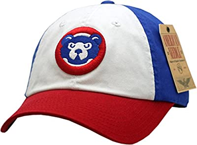 Chicago Cubs Hat Buckle Back Creamsicle 1984 Logo 10605