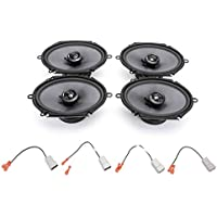 1999-2004 Ford F-350 Elite Series Complete Vehicle Speaker Package Upgrade by Skar Audio