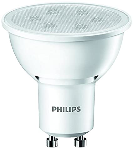 Philips Bombilla 8718696483763 Foco LED, 3,5 W/35 W, Casquillo GU10, 3.5 W, Blanco 35 W: Amazon.es: Iluminación