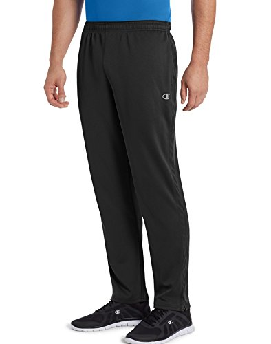 Double Tapered - Champion Men's Double Dry Select Training Pant, Black, S