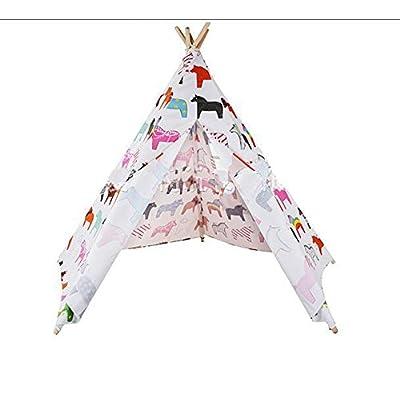 Super mignon mignon enfants/pur coton fabriqués à la main tissu tente/indoor/outdoor/indoor play House pour tente enfants , gray