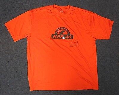 Pablo Sandoval T-Shirt Signed & Game Used AUTO PSA/DNA COA San Francisco Giants ()