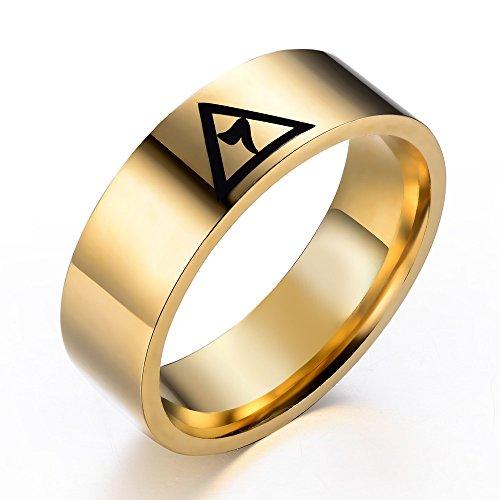 Shrine & Mason Products T43 Masonic Ring Scottish Rite Freemason 14th Degree Grand Elect -