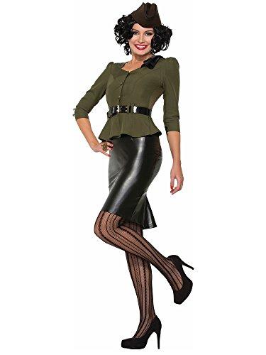M And M Costume Uk (Forum Novelties Missile Millie Adult Costume (M/L)-M/L)