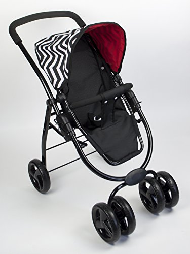 Lil' Rose Like Bugaboo Deluxe Doll Stroller High Quality Performance ()