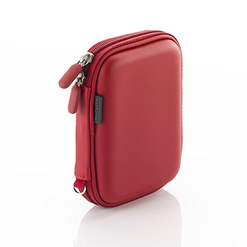 Drive Logic DL-54-RED EVA Carrying Case for Portable External Hard Drives, Red