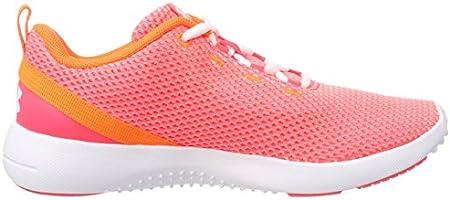 bardzo tanie szczegółowy wygląd zniżki z fabryki Under Armour Women's Ua W Squad 2 Fitness Shoes, Pink (Neo ...