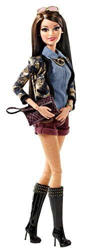 Barbie Style Raquelle Gold-Denim Jacket Doll