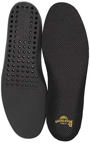 Dr. Martens Comfort Insole, black, 8 M US Women / 7 M US Men (Original 7 Wonders Of The World 2012)
