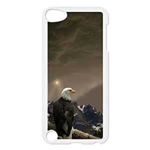 Bald eagle at sky Case Cover Best FOR Ipod Touch 5 FBGH-T500461