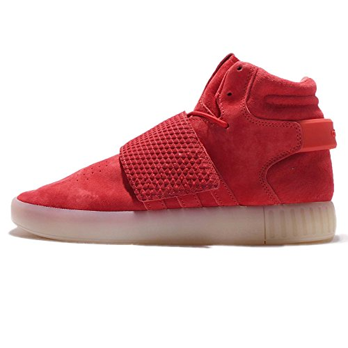 outlet largest supplier adidas Originals Men's Tubular Invader Strap Shoes Red/Red/Vinwht footlocker finishline sale online A0QA7lvsP4